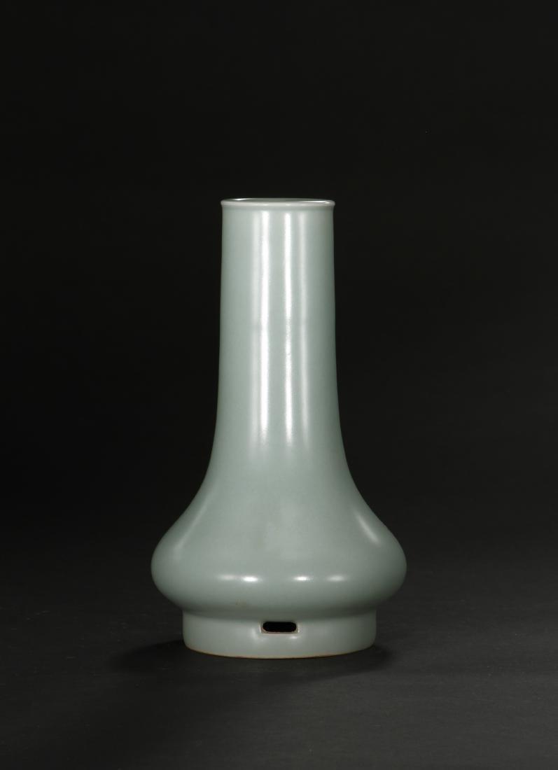 Fine Lungchuan Celadon Bottle Vase