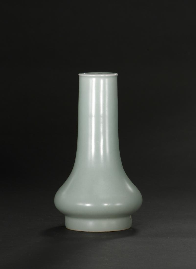 Fine Lungchuan Celadon Bottle Vase - 2
