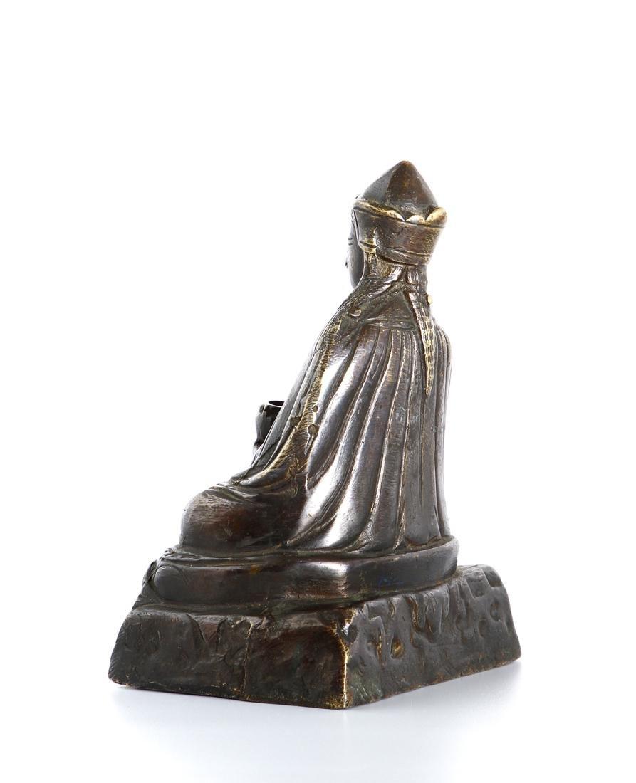 Chinese Gilt-Bronze Figure of Medicine Buddha - 4