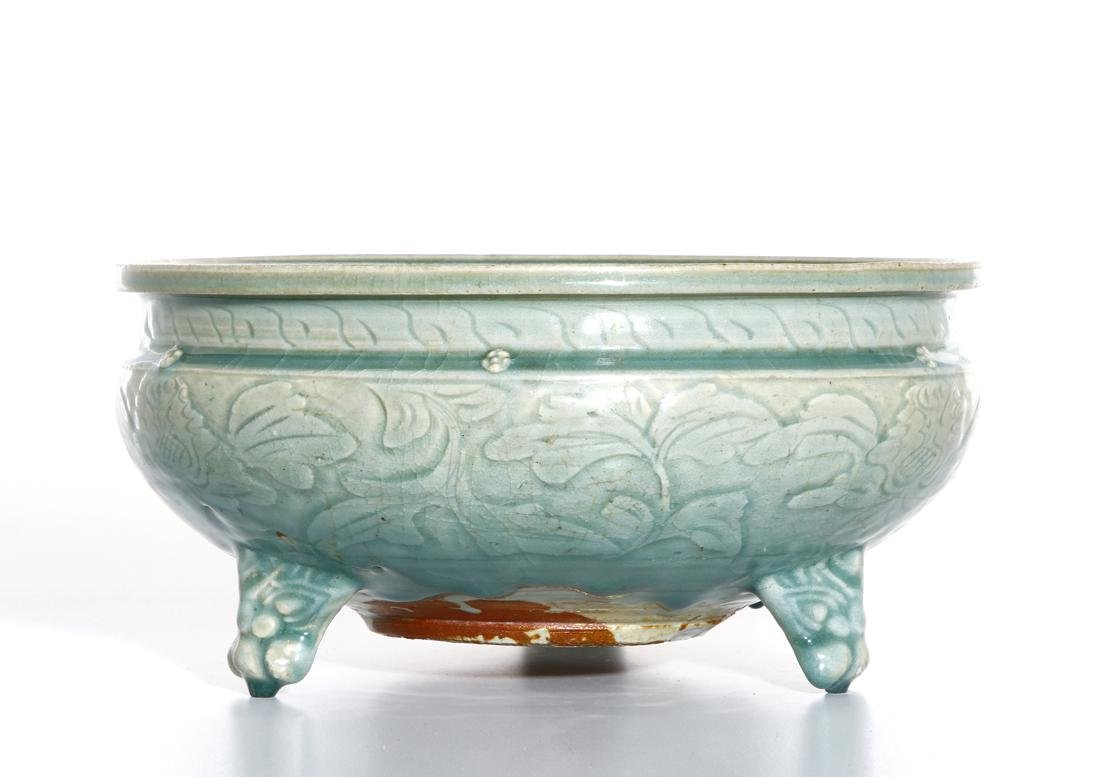 Chinese Ming Longquan Tripod Censer, Christie's - 2