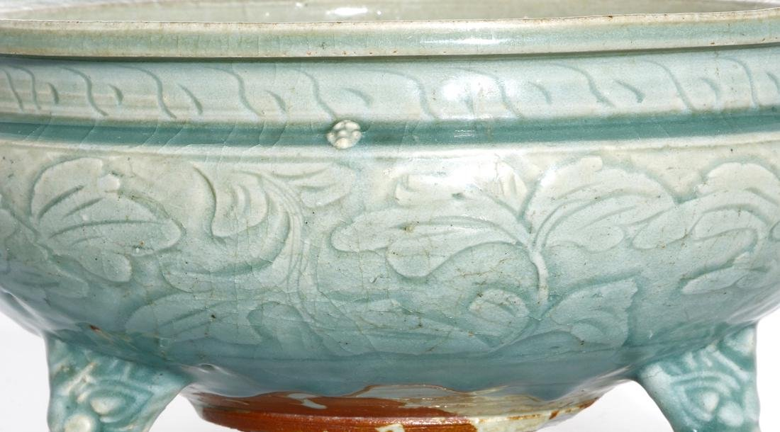 Chinese Ming Longquan Tripod Censer, Christie's - 3