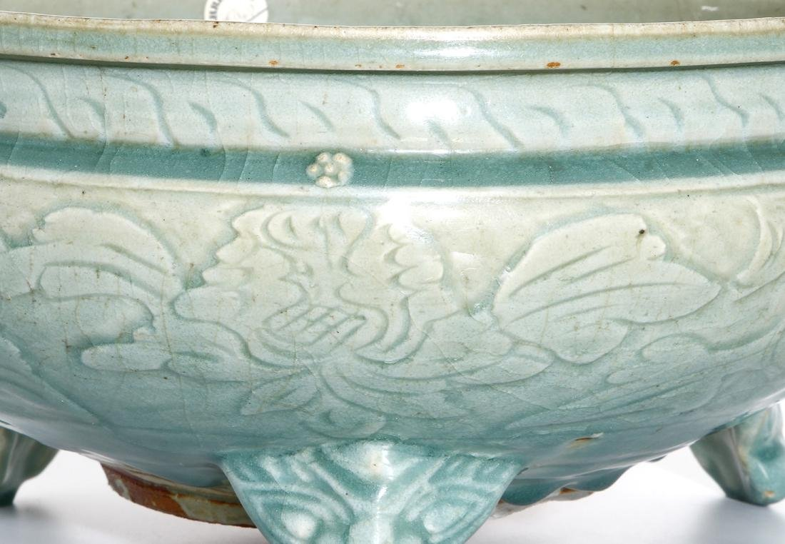 Chinese Ming Longquan Tripod Censer, Christie's - 4
