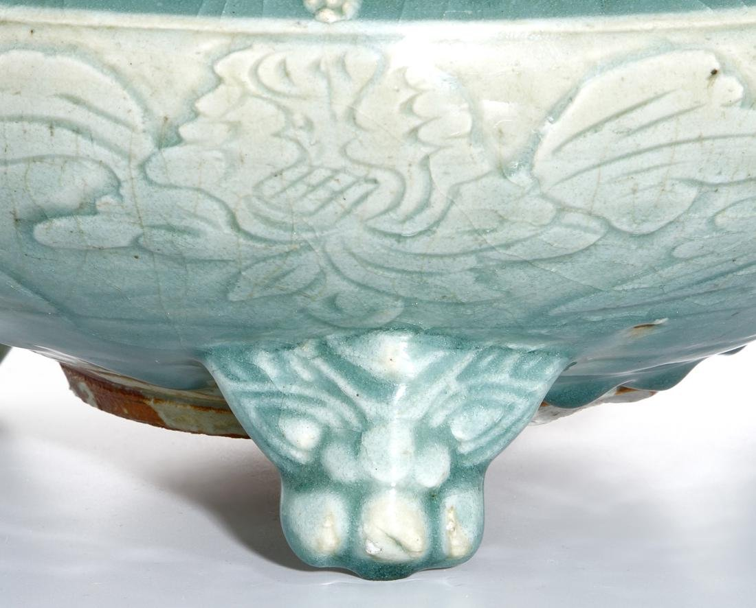 Chinese Ming Longquan Tripod Censer, Christie's - 5