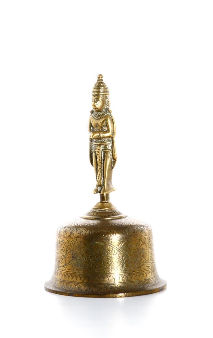 Chinese Gilt Bronze Ceremonial Bell - 5