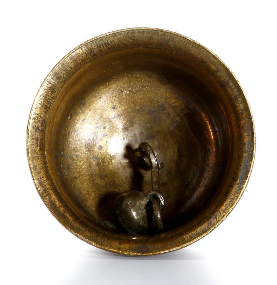 Chinese Gilt Bronze Ceremonial Bell - 7