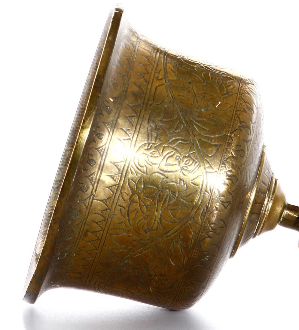 Chinese Gilt Bronze Ceremonial Bell - 9