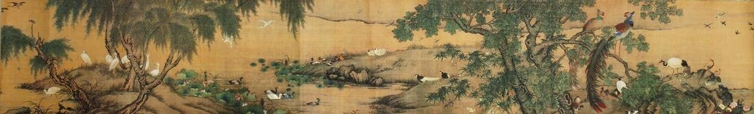 Chinese Blue and Green Landscape Handscroll - 3