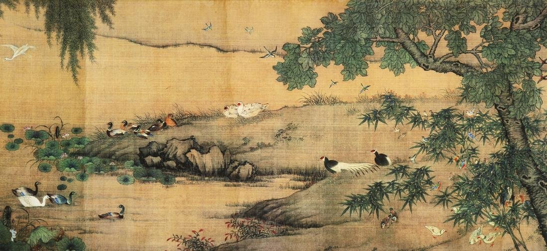 Chinese Blue and Green Landscape Handscroll - 5
