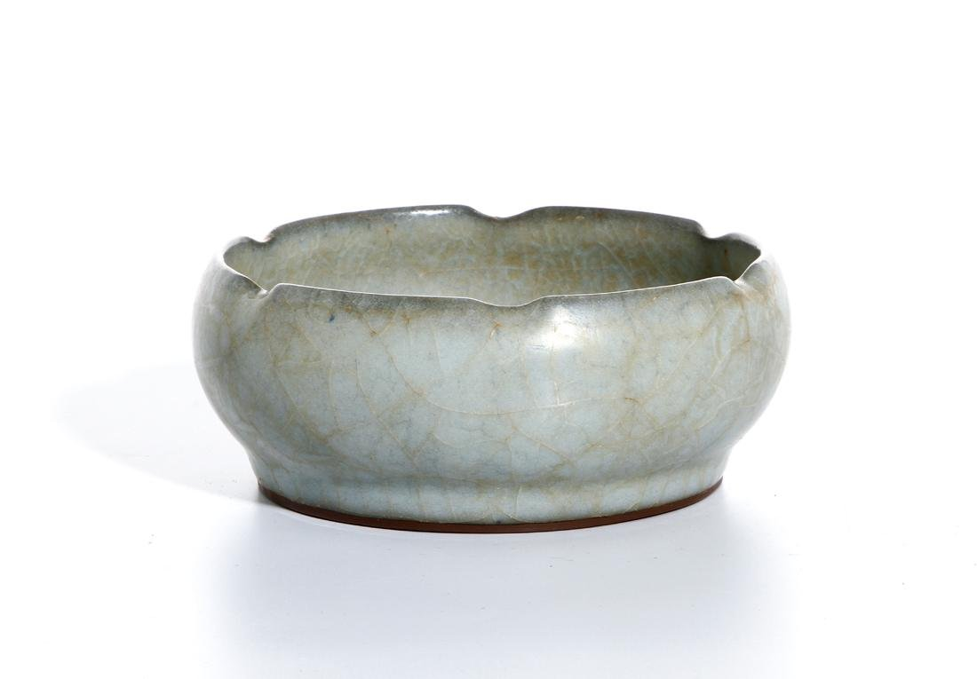 Chinese Longchuan Celadon Guan-Type Brushwasher - 2