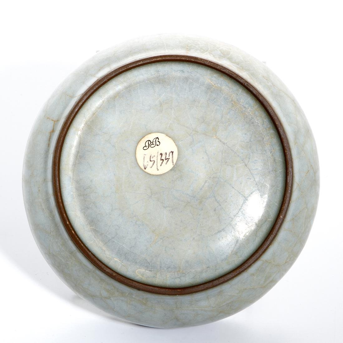 Chinese Longchuan Celadon Guan-Type Brushwasher - 5