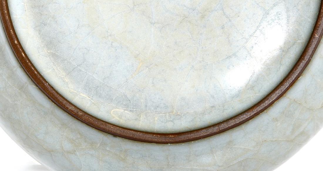 Chinese Longchuan Celadon Guan-Type Brushwasher - 6
