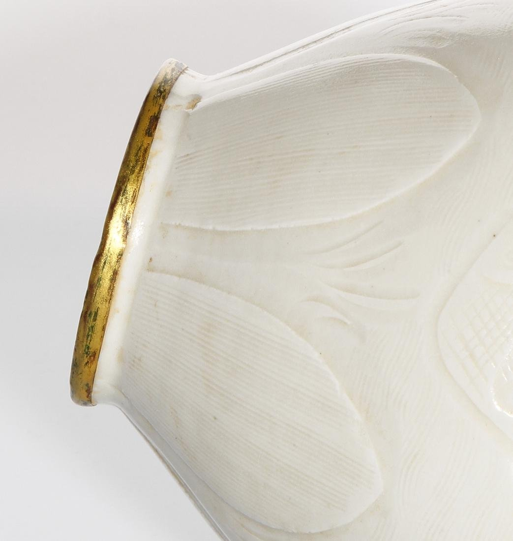Chinese Ding Ware Carved Baluster Vase - 8
