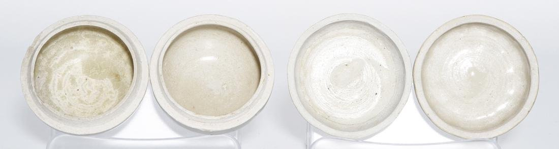 Pair of Chinese Qingbai Melon-Form Boxes - 5