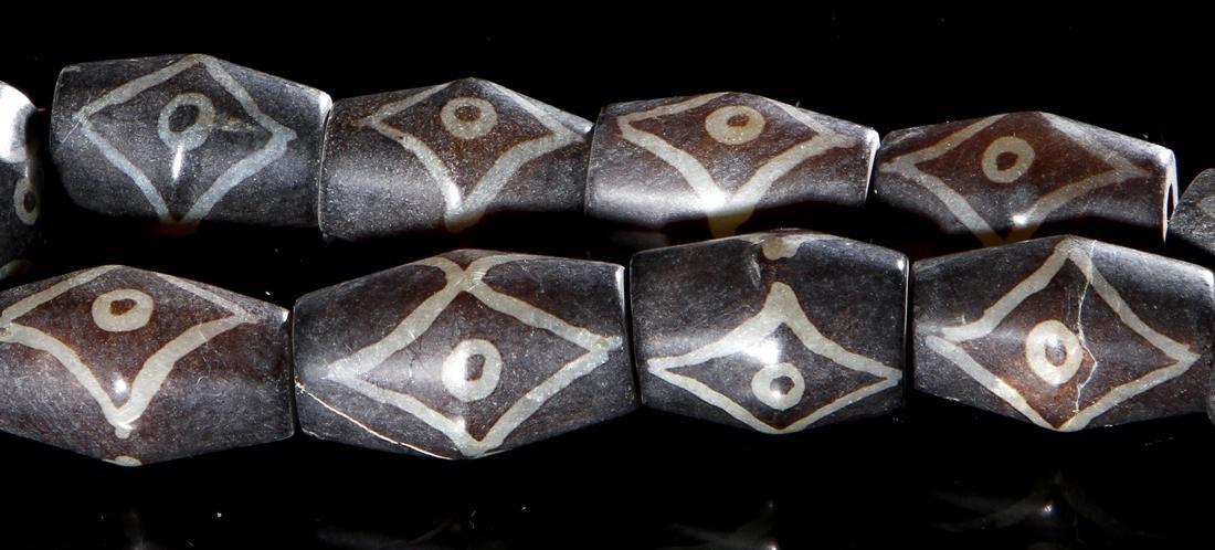 Chinese Dzi Beads Necklace - 2