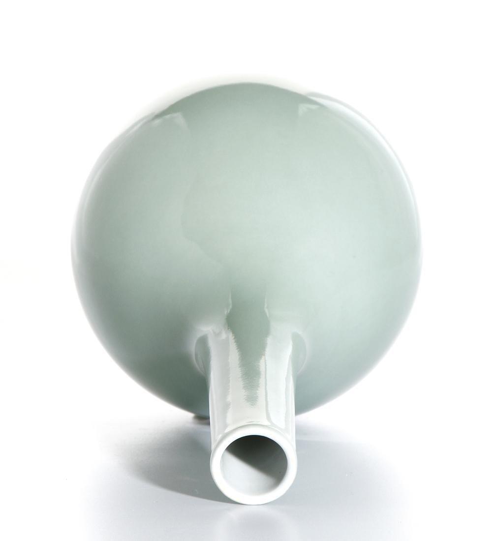 Chinese Celadon Glazed Bottle Vase - 5