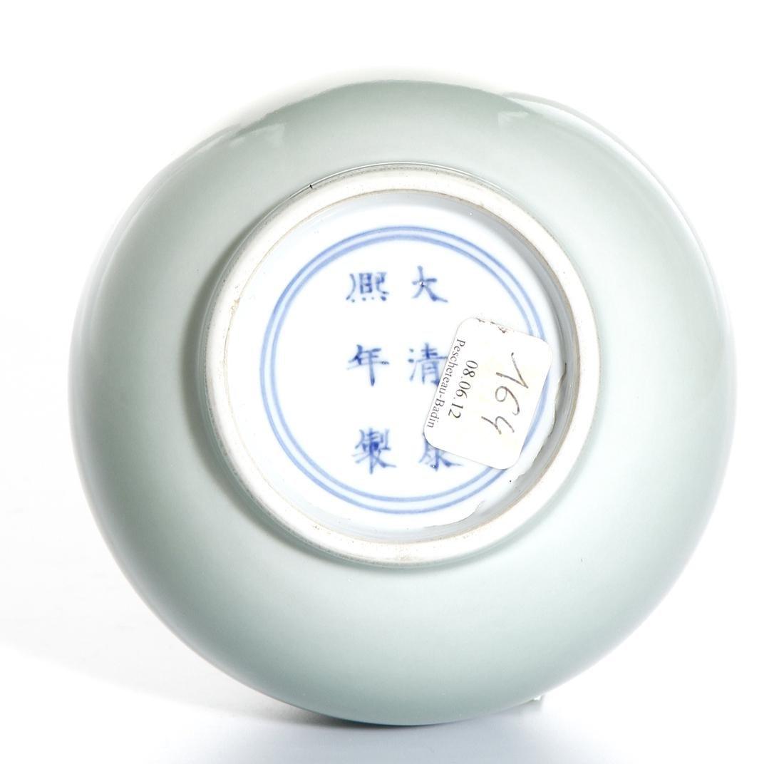Chinese Celadon Glazed Bottle Vase - 6