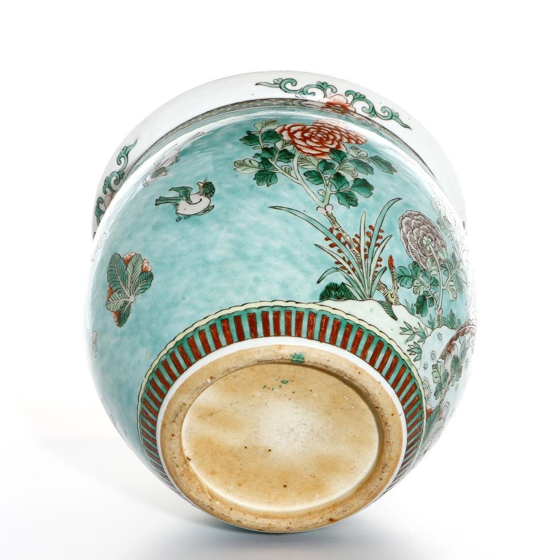 Chinese Famille Rose Jar - 9