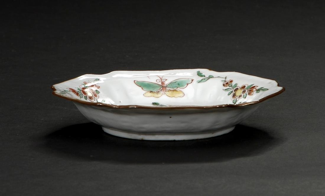 Chinese Important Late Ming Wucai Dish, Christie's - 4