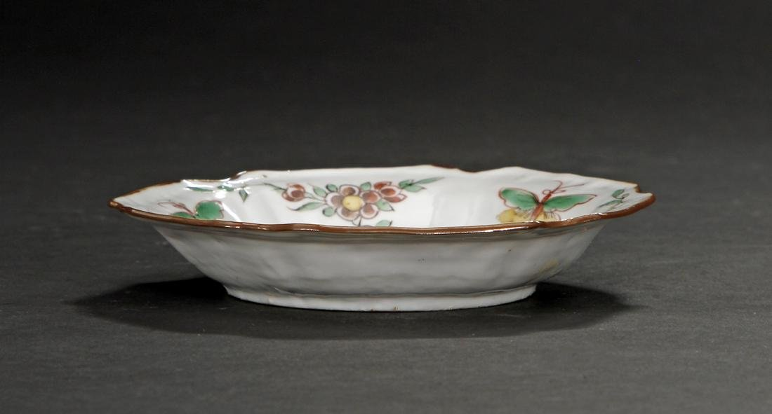 Chinese Important Late Ming Wucai Dish, Christie's - 7