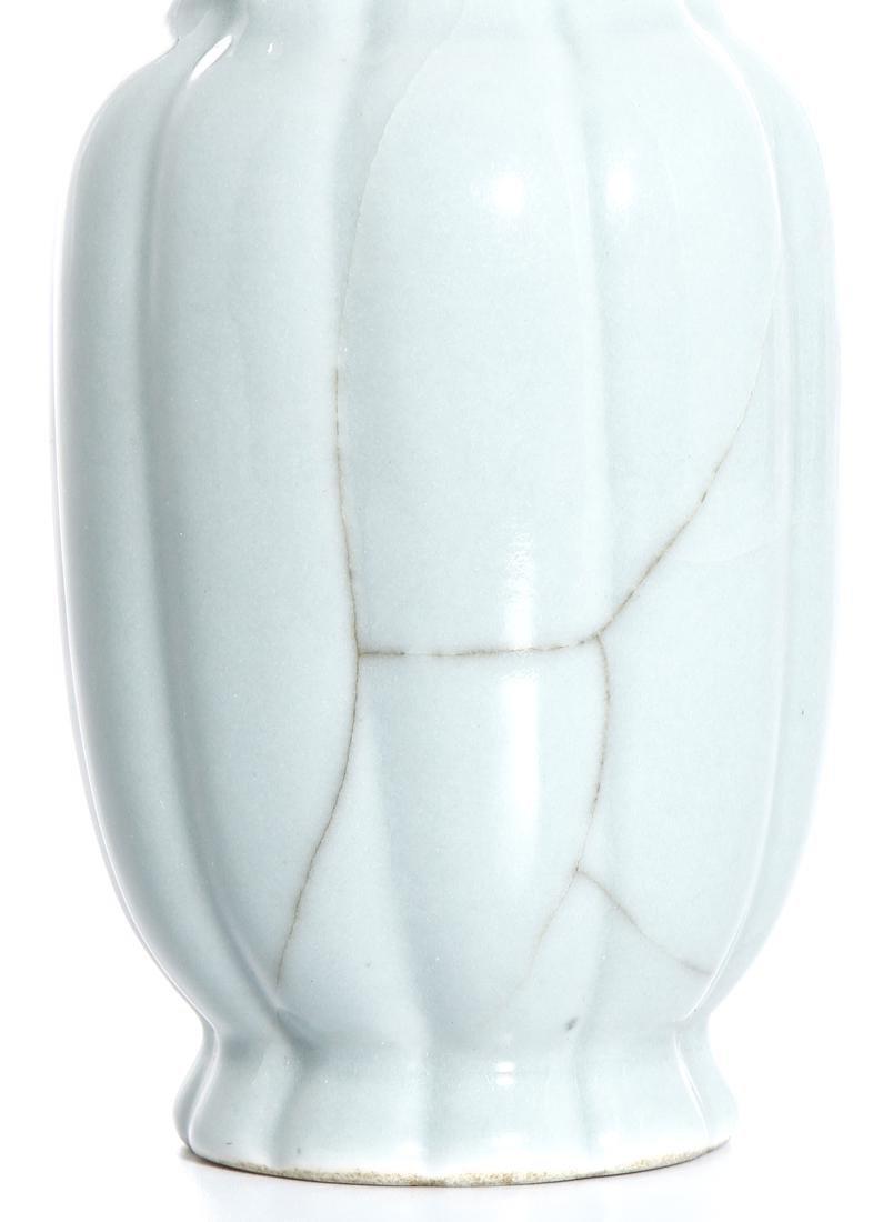 Chinese Celadon Glazed Vase - 7