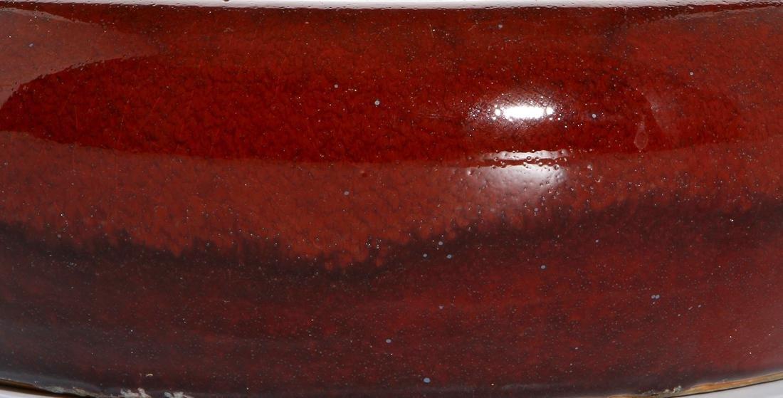 Chinese Oxblood Glazed Brush Washer - 3