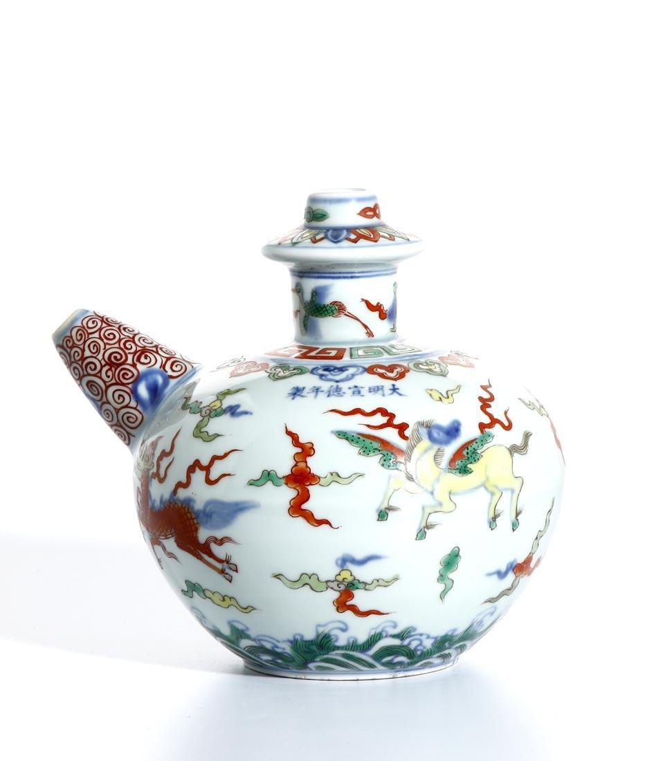 Chinese Doucai Kendi