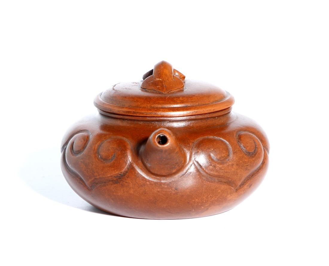 Chinese Yixing Teapot and Cover - 3