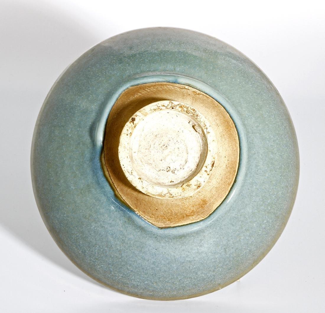 Large Chinese 'Jun' Type Bowl - 3