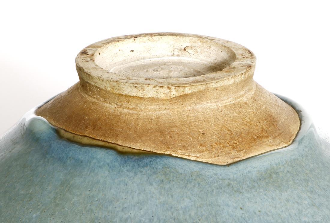 Large Chinese 'Jun' Type Bowl - 5