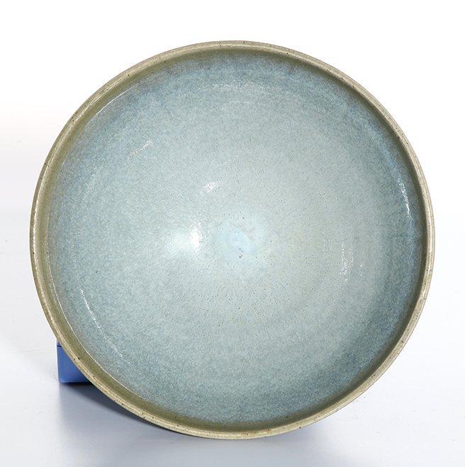 Large Chinese 'Jun' Type Bowl - 6