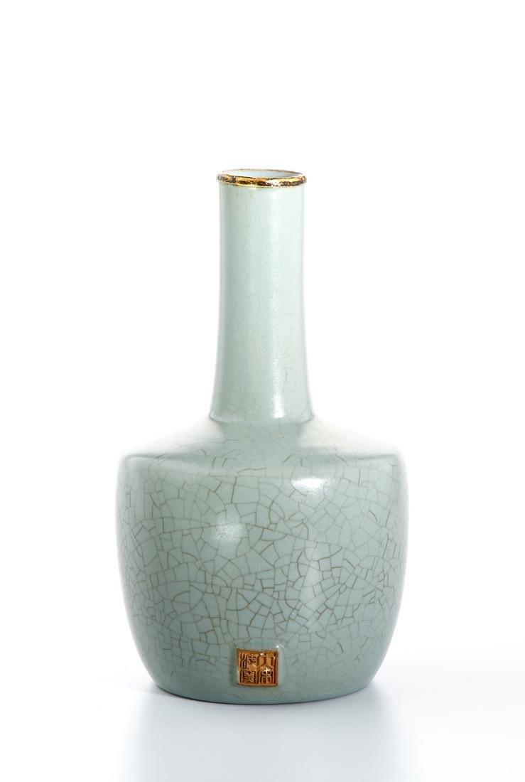Chinese Guan Type Mallet Vase - 2