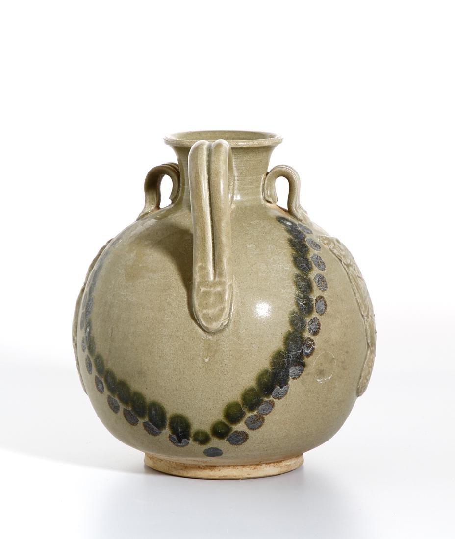 Chinese 'Changsha' Celadon-Glazed Ewer - 2