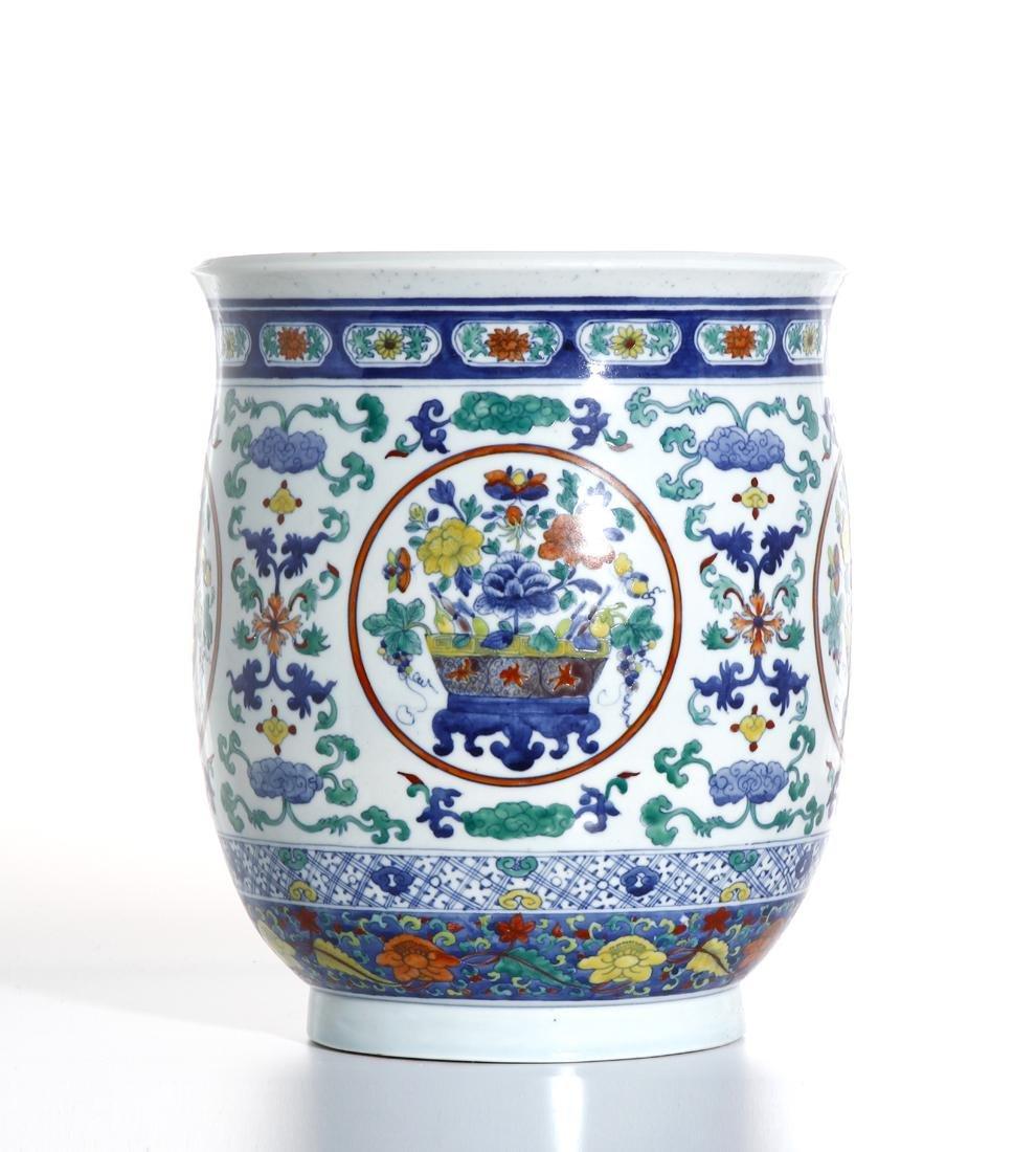 Chinese Doucai Jardiniere - 2