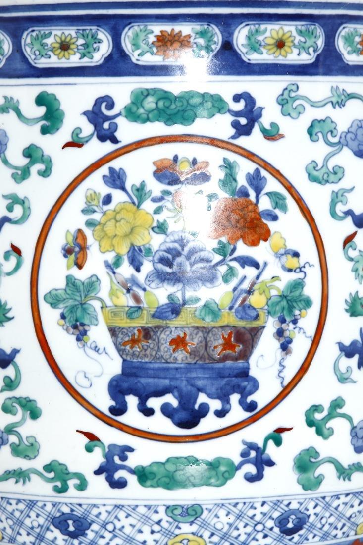 Chinese Doucai Jardiniere - 8