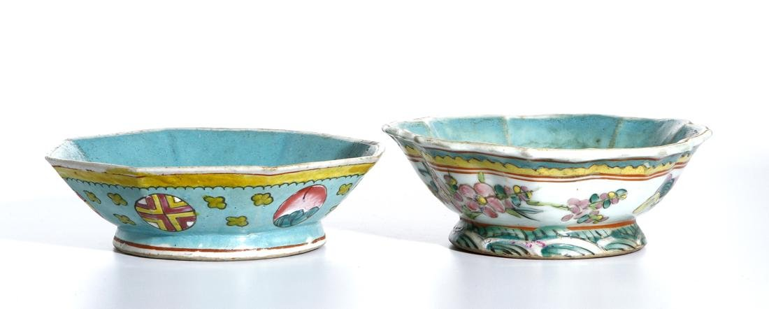 Two Chinese Famille Rose Bowls - 2