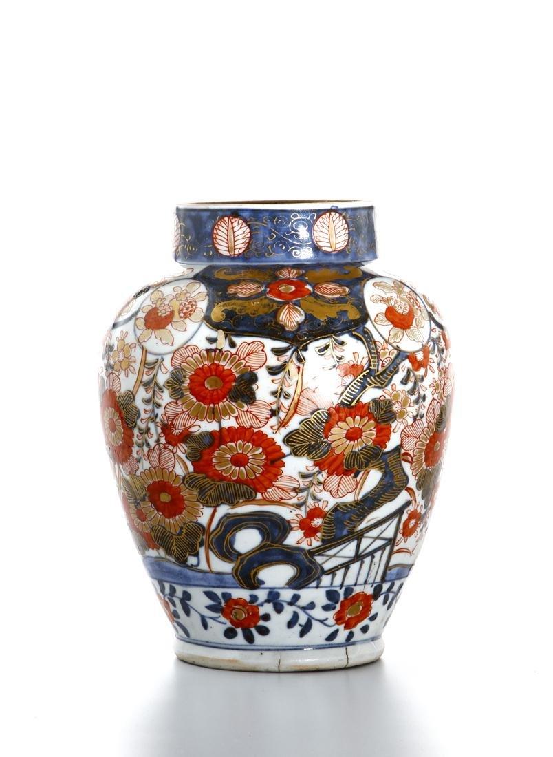 Japanese Imari Jar