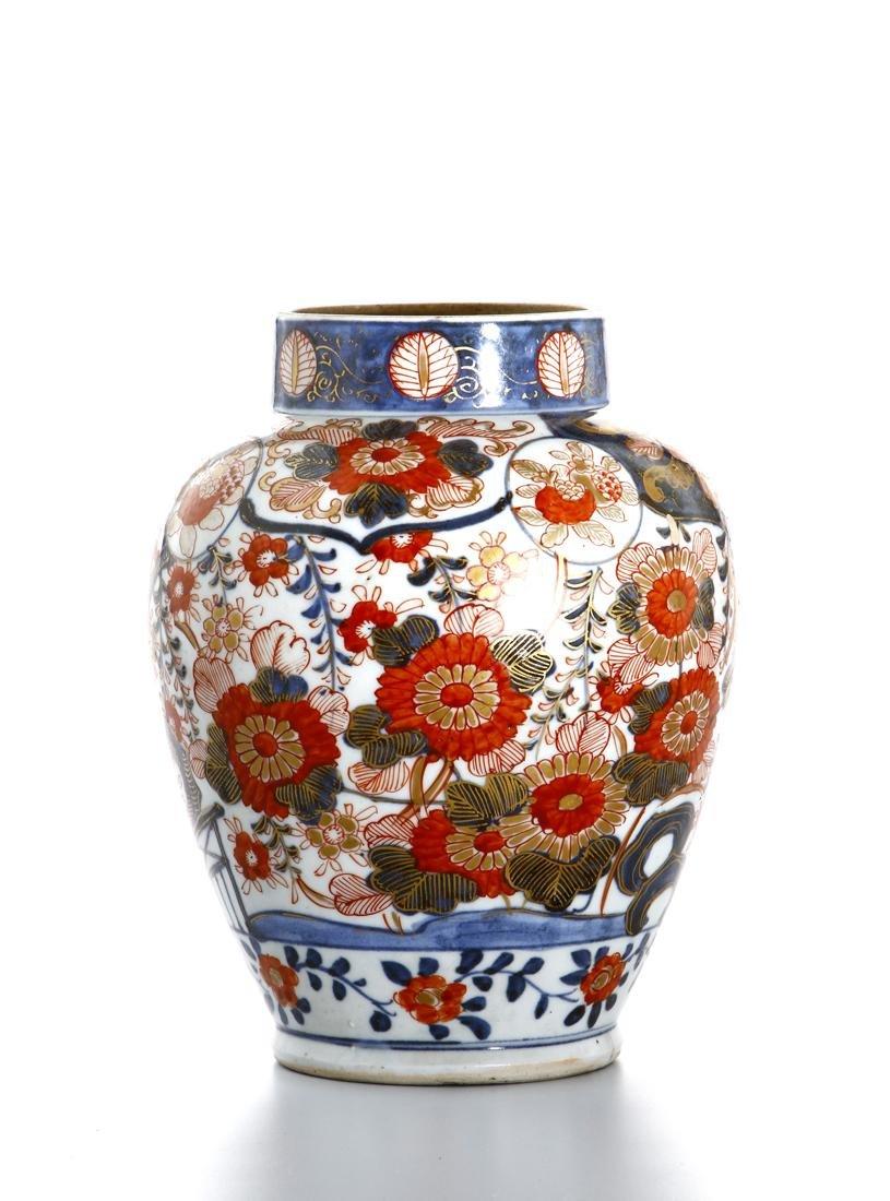 Japanese Imari Jar - 3