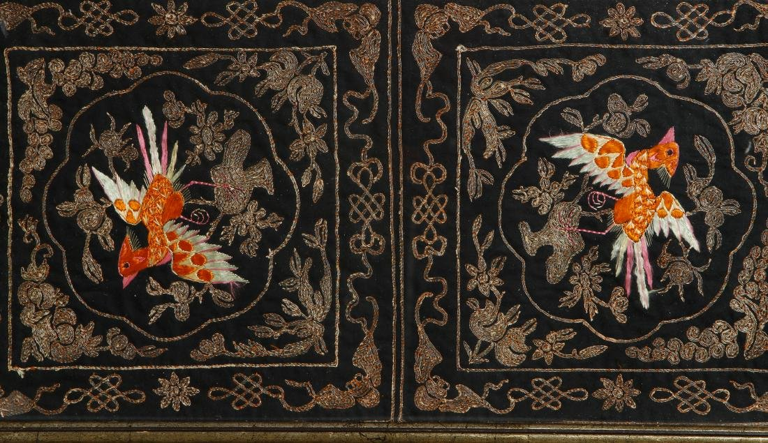 Chinese Silk Embroidery Panel - 2