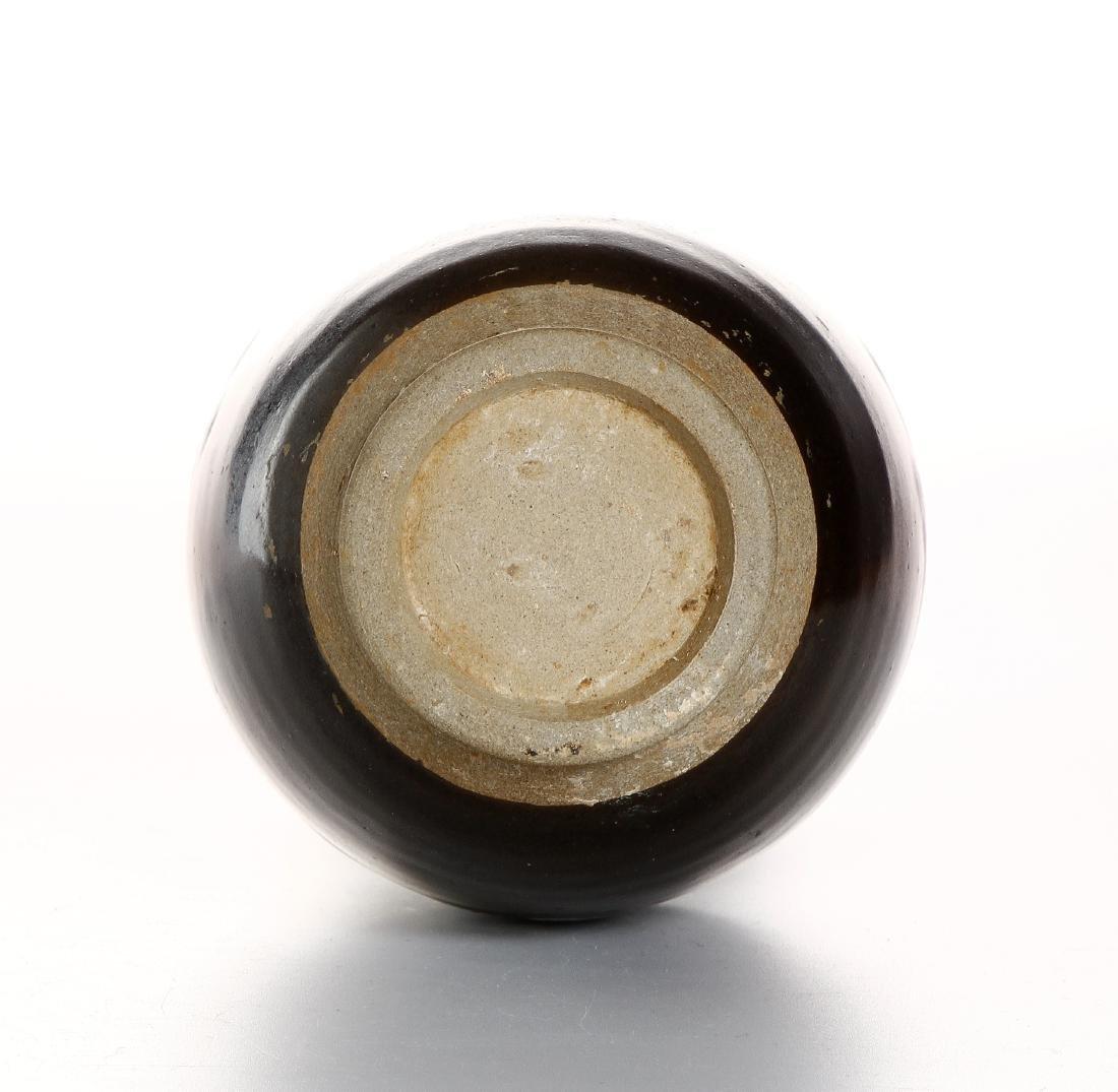 Chinese Flambe Glazed Bottle Vase - 5