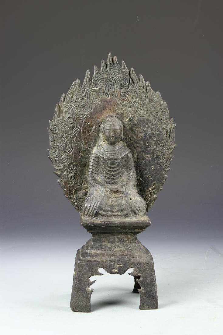 Chinese Bronze Figure of Buddha