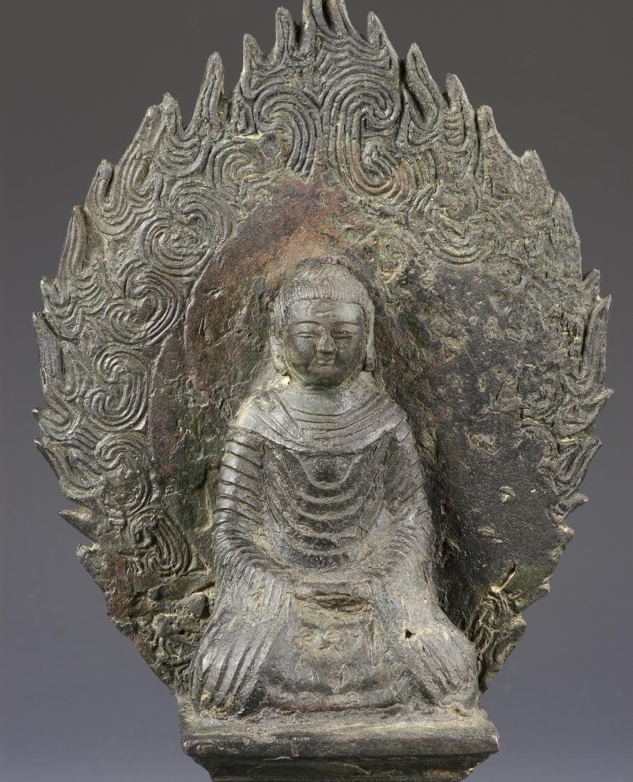 Chinese Bronze Figure of Buddha - 2