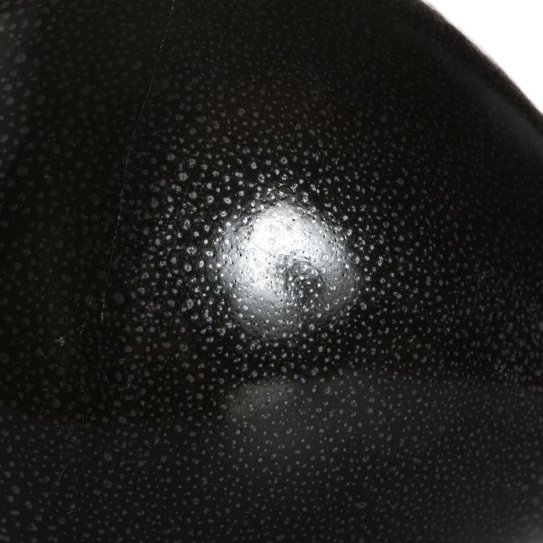 Chinese Cizhou Black Glazed 'Oil-Spot' Vase - 9