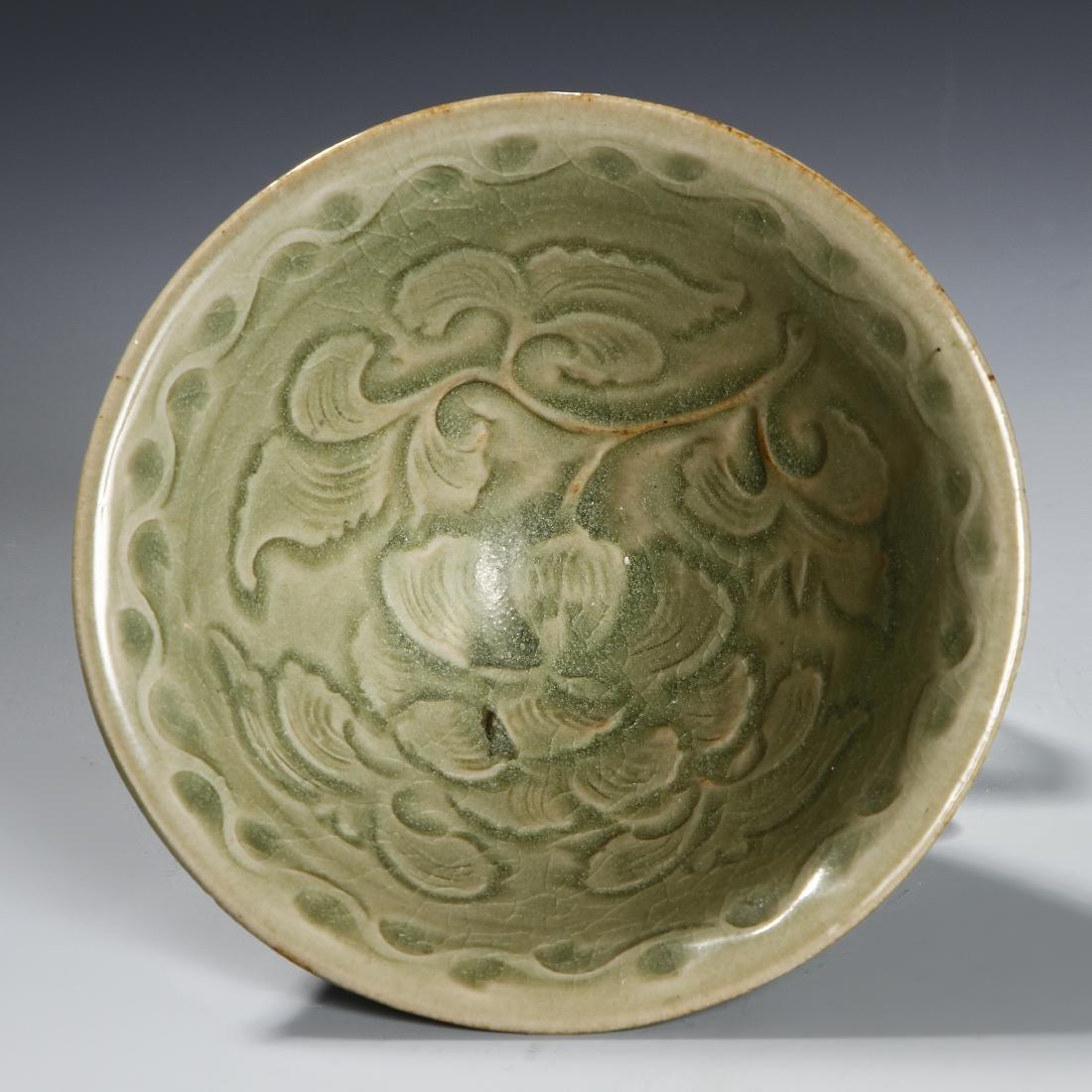 Chinese Longquan Yaozhou Type Lobed Bowl - 2