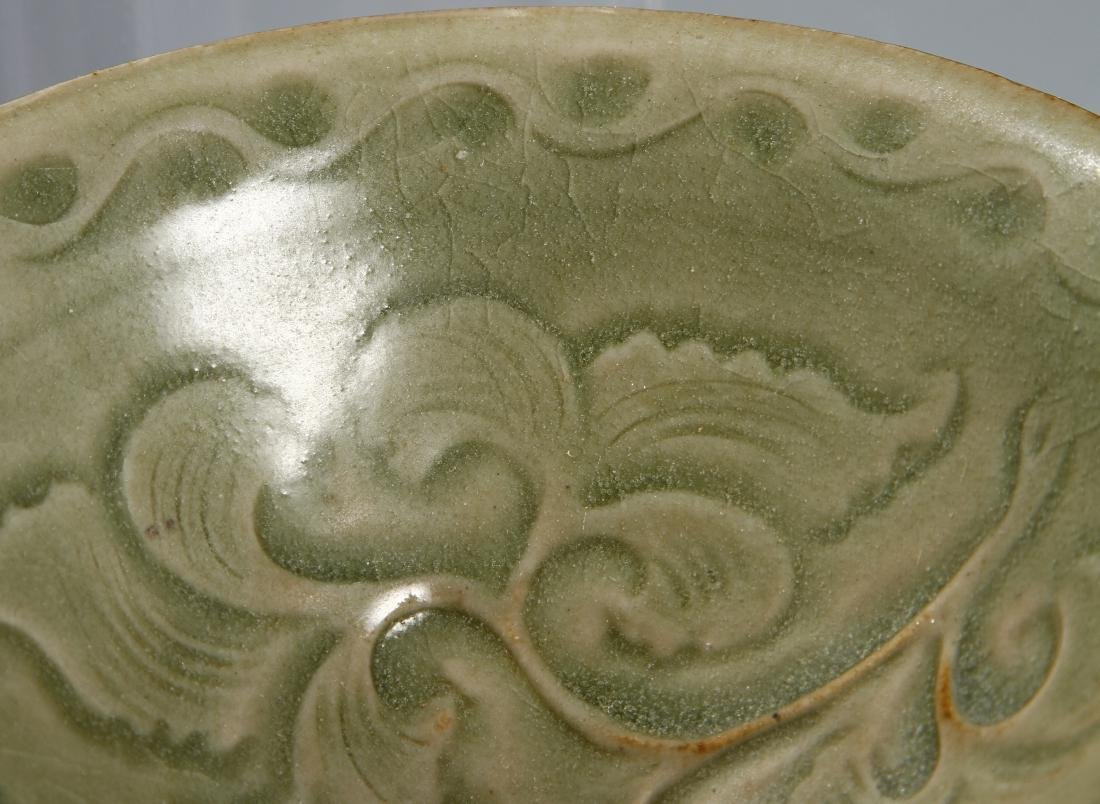 Chinese Longquan Yaozhou Type Lobed Bowl - 5