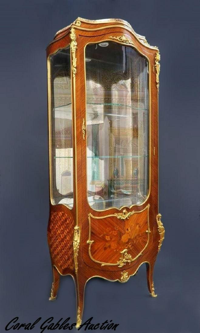 F. Linke Curio Cabinet
