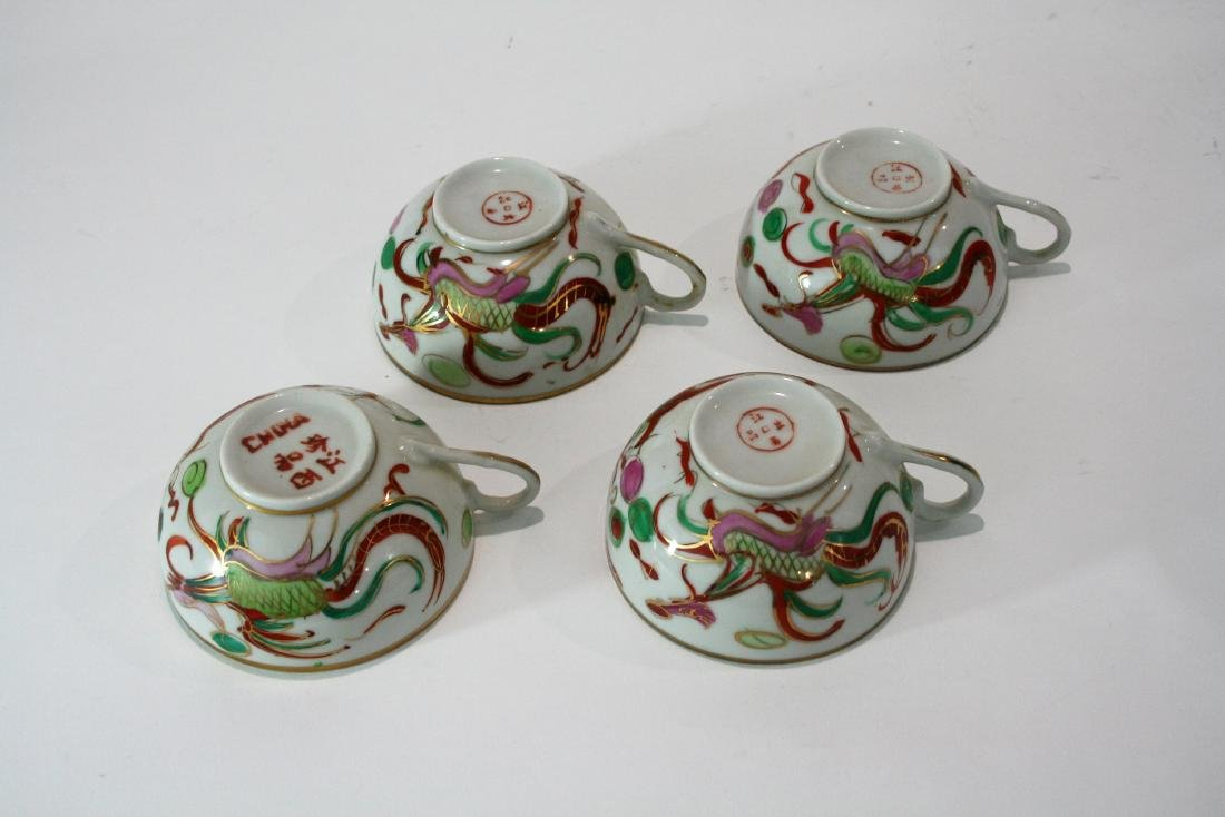 Set of  Chinese cups - 3