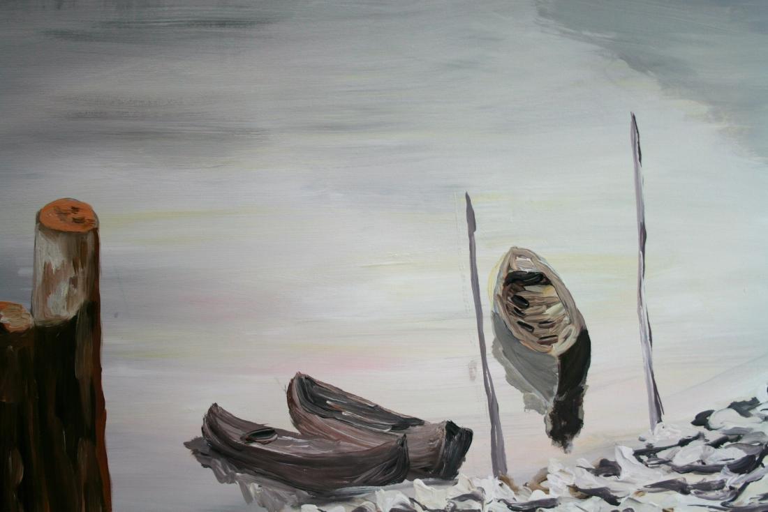 20 century. Oil painting on canvas. - 2