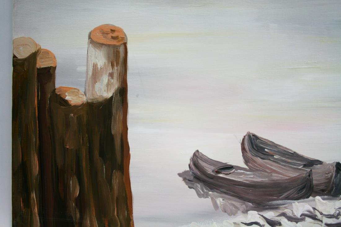 20 century. Oil painting on canvas. - 3