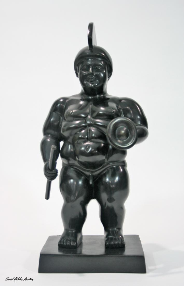 Bronze sculpture, signed Botero.