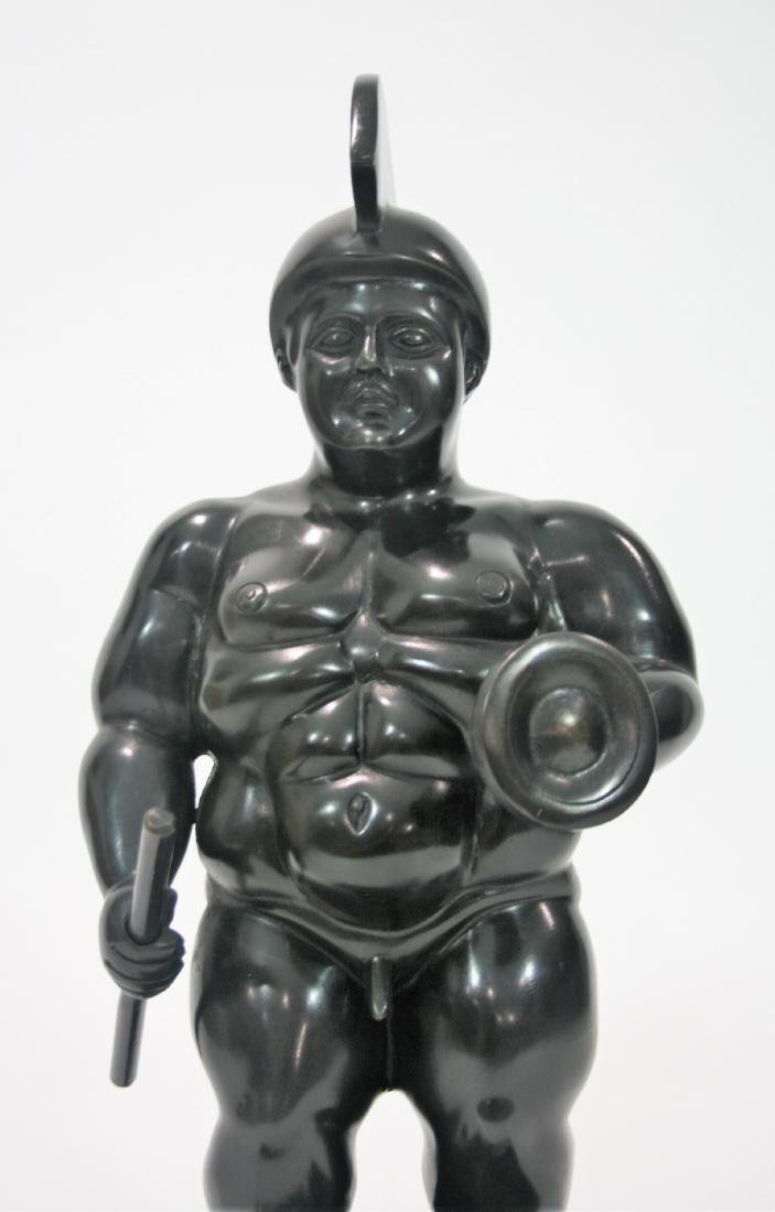 Bronze sculpture, signed Botero. - 6